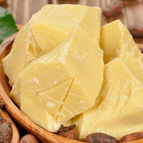 circular cocoa butter