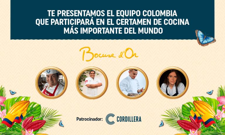 COLOMBIA POR PRIMERA VEZ EN LA FINAL DEL BOCUSE D'OR
