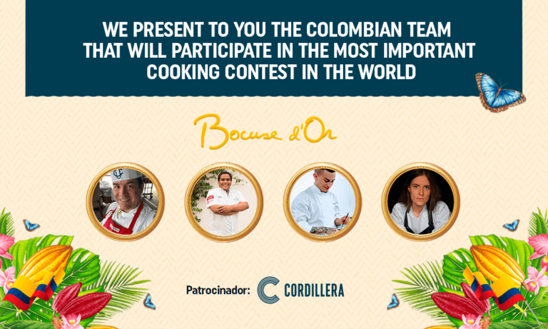 COLOMBIA FOR THE FIRST TIME AT THE BOCUSE D'OR FINAL